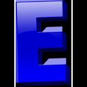 Английская буква E