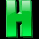 Английская буква H