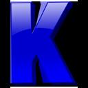 Английская буква K