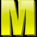 Английская буква M