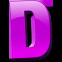 Английская буква D