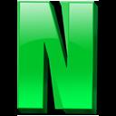 английская буква N